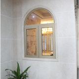 Foshan fábrica de cristal doble rotura térmica de aluminio puertas y ventanas (55 series)