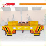 Chariot électrique matériel lourd à transfert utilisé dans l'aciérie (KPX-50T)