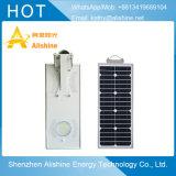 Einfache Installation 15W alle in einem integrierten Solarstraßenlaterne