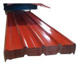 Strato del tetto del metallo del ferro ondulato di PPGI PPGL