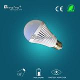 Luz de bulbo Emergency del bulbo 7W LED del mejor precio recargable