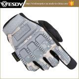 Esdy тактические занятия спортом на открытом воздухе в полном объеме военных вентиляторы Camo пальцев перчатки