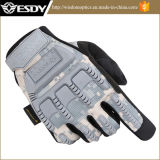 Esdyの戦術的な屋外スポーツ完全な指の軍隊はCamoの手袋に送風する