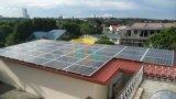 Sistema solar da montagem do telhado do metal
