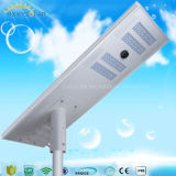 Poder más elevado todo del precio de fábrica en una luz de calle solar solar de la luz de calle LED 5W-120W