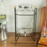 최신 인기 상품 꼭지를 가진 유리제 음료 물 분배기