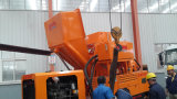 Цемента дизельного насоса заслонки смешения воздушных потоков имеет уникальные преимущества в конкретных и насосной заслонки смешения воздушных потоков в одной машине
