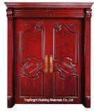Роскошный главной двери из тикового дерева (CL-2046)