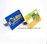 Tarjeta promocional del USB de la dimensión de una variable del estilo de la tarjeta del mecanismo impulsor de la tarjeta de crédito del flash