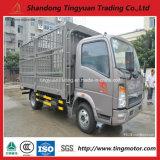 Camion del carico della rete fissa di HOWO/veicolo leggero/mini camion