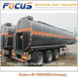 30000lts caminhão tanque químico Semi Trailer de hidróxido de sódio