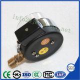 50mm noir de carbone ordinaire Shell manomètre de pression de contact électrique