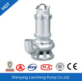 bomba de água suja submergível padrão da bomba de água de esgoto do aço inoxidável de 2.2kw 2inch Wqs