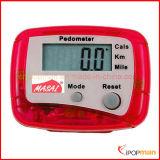 リスト・ストラップが付いているカロリーの歩数計の腕時計