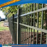 En acier inoxydable clôture ornementale résidentiel en aluminium