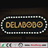 2016 Hot Selling 3D Acrílico LED Iluminado Wall-Mounted Letter Signs