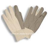 Рекламные дешевые хлопок Canvas жаропрочные перчатки