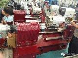 Tck45L 선형 홈 CNC 기우는 침대 선반 공작 기계
