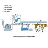 新型固定パイプラインの搾り出す機械