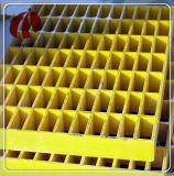 El FRP Corrison-Resistant GRP rejilla moldeada Mini-Mesh chirrido