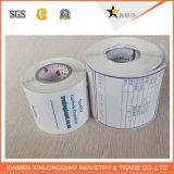Código de barras de encargo de impresión de etiquetas de transferencia térmica engomada de papel adhesivo de la impresora