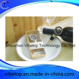 Новый продукт сублимацией металлические подарочная бутылка вина упор