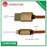 USB cobrando rápido dos cabos 8pin do cabo de dados 2.1A para o iPhone 6 7