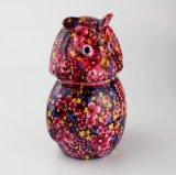 Tirelire Shaped de hibou en céramique promotionnel fait sur commande de cadeau