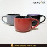 De goedkope Ceramische Mok van de Soep met Handvat