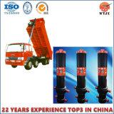 OEM Custom FC Cilindro telescópico hidráulico para la construcción de camiones volquete