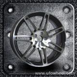 Het Wiel van de Legering van de Replica van de douane voor Audi (ufo-A01)