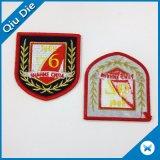 Ferro on/Sew da parte alta no emblema bordado mão para o chapéu/vestuário/saco