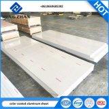 Usine OEM PE/PVDF peinture couleur feuille en aluminium/panneau de revêtement mural
