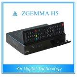 Bcm73625 hohe des CPU-Zgemma H5 Doppeltuners Satellitenempfänger-Doppelkern-Linux OS-E2 Mischling-DVB-S2+T2/C