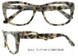 여자를 위한 최신 대중적인 Eyewear 도매 아세테이트 광학 프레임