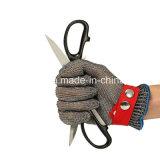 Против режущий режущая сетка из нержавеющей стали обороны перчатки