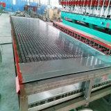 Haute qualité en plastique renforcé de fibre de verre moulé grincement de la machine en fibre de verre
