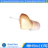 Raccord de droite ou gauche de l'oreille CIC Amplificateurs aide auditive invisible