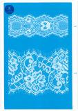 Amplia ordinaria de encaje para la ropa / ropa / zapatos / bolsa / caja de 3082 (ancho: 7 cm)