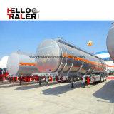 China-Fertigung Tri-Welle 40m3 Kraftstoff-Tanker-LKW-Schlussteil für das Transportieren des Dieselkraftstoffs
