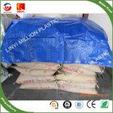 Utilização de camiões de plástico PE oleados de fábrica de HDPE China Tarps