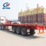 China-Qualität 40FT Flachbett-/flaches Bett-Behälter-Schlussteil für Verkauf