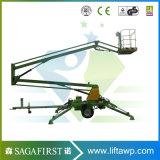 plate-forme hydraulique mobile de levage de panier d'araignée de poids léger de 16m