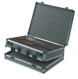 Caixa de injetor de alumínio com fechamento de combinação