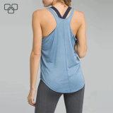De in het groot Privé Hemden van de Gymnastiek van de Vrouwen van het Mouwloos onderhemd van de Kleding van het Etiket