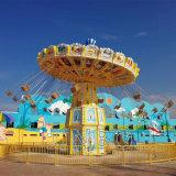 Parque de Atracciones de acero de productos de fibra de vidrio &Silla voladora Amusement Ride Crazy Juegos