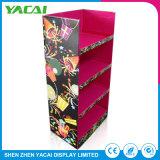 Plancher en acrylique en carton de papier personnalisé Stand d'exposition produits rack d'affichage