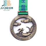 Liga de artesanato de metal personalizado Bronze medalha Desportivo Powerlifting Harris