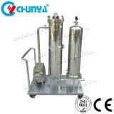 Le traitement des eaux de haute qualité de purificateur de filtre à cartouche avec pompe à vide