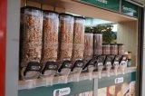 Ecobox Qualidade alta gravidade Bin dispensador de alimentos a granel e doces